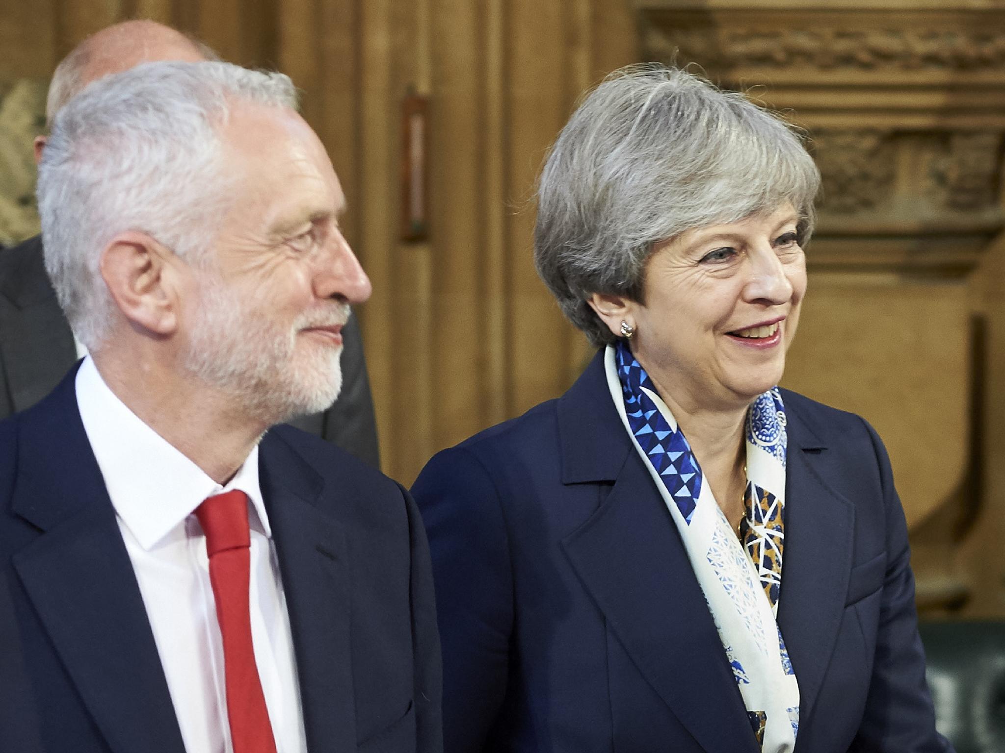 'Theresa May and Jeremy Corbyn are both backward-looking politicians'
