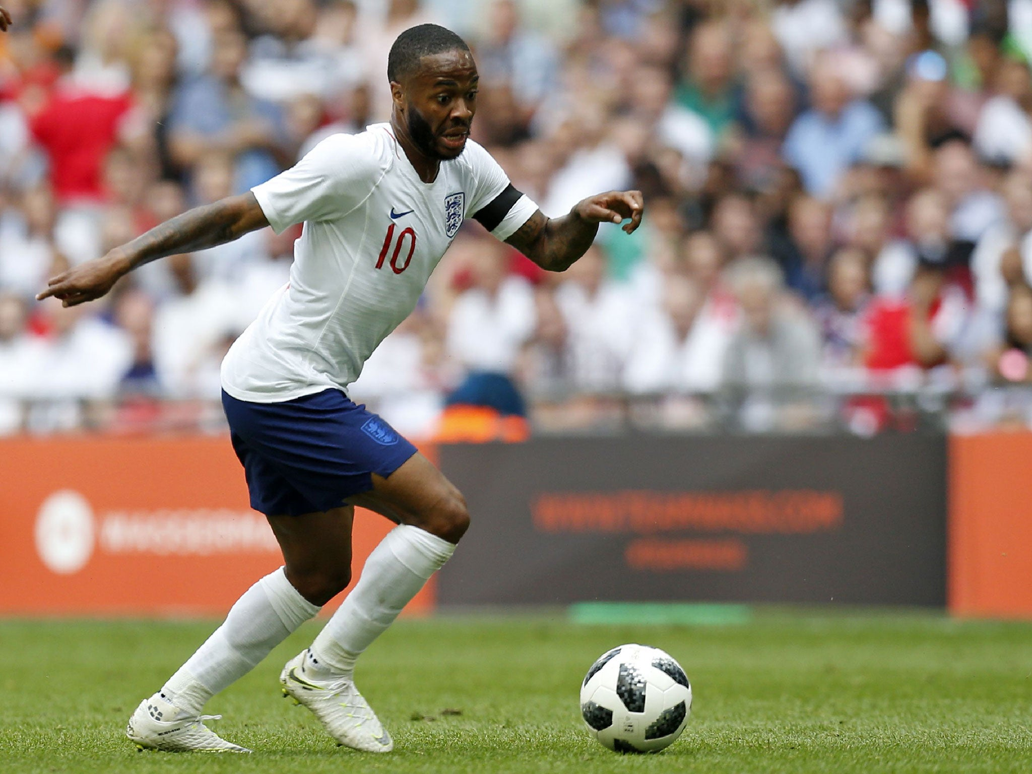 9a7d677f0 World Cup 2018  Raheem Sterling shows exactly why he s become a player you  simply have to make an exception for