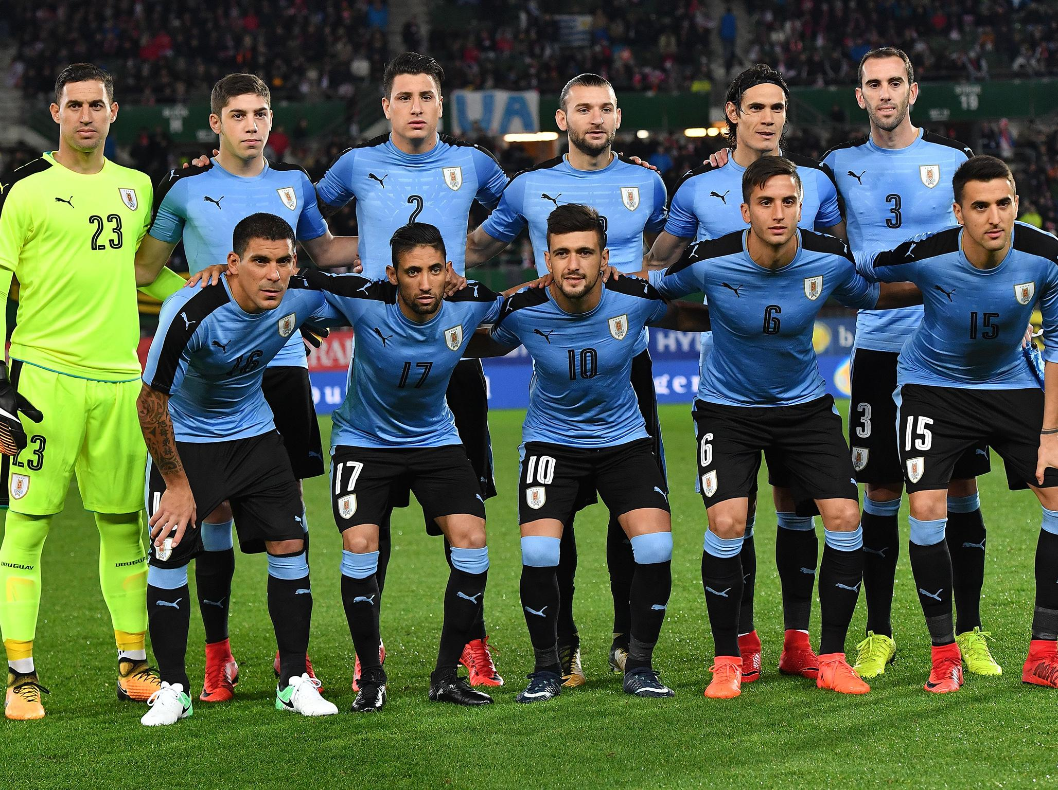 Uruguay World Cup Squad Guide Full Fixtures Group Ones To Watch Odds And More The Independent