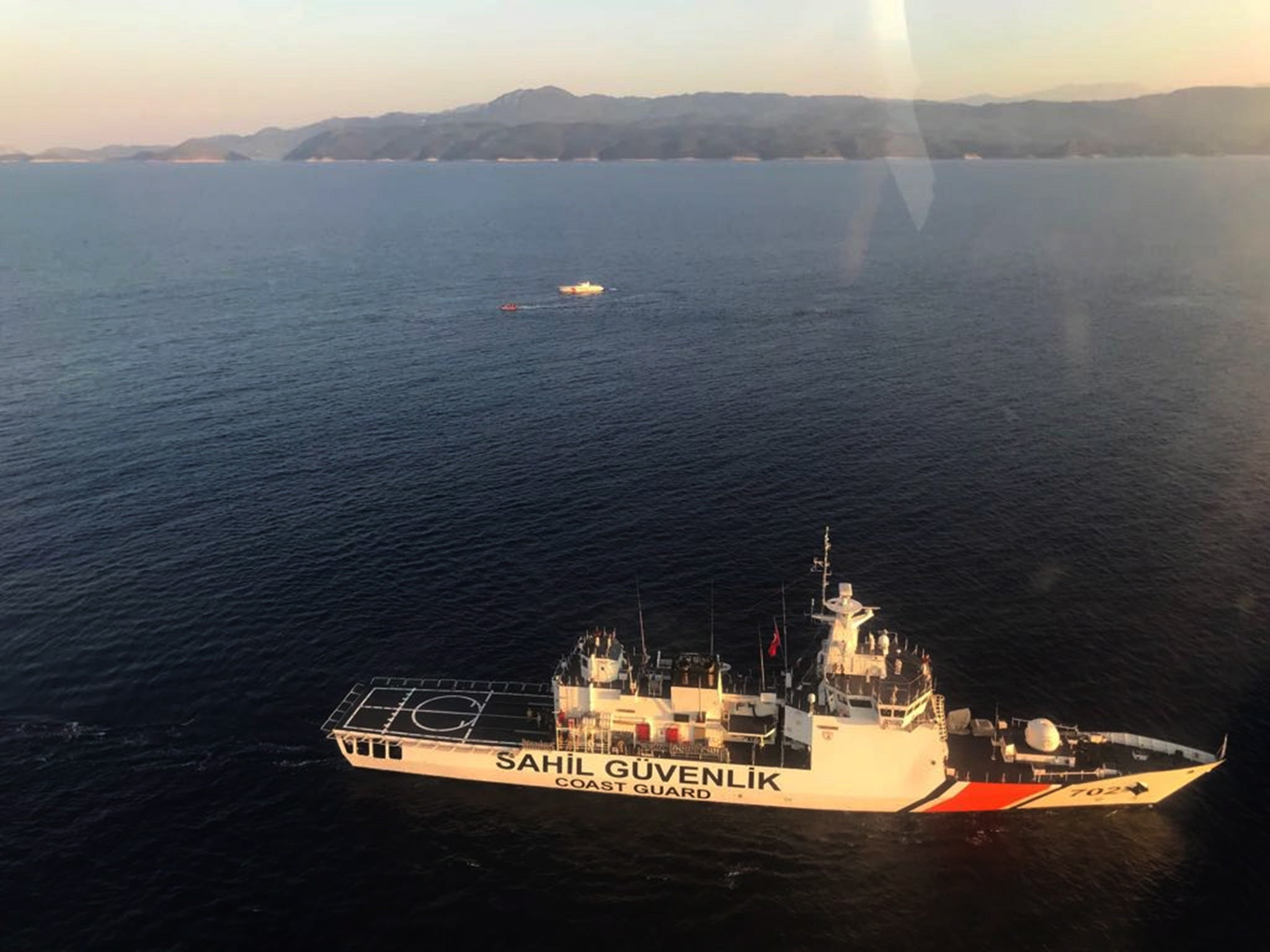 Three babies among dead as boat capsizes off Turkish coast