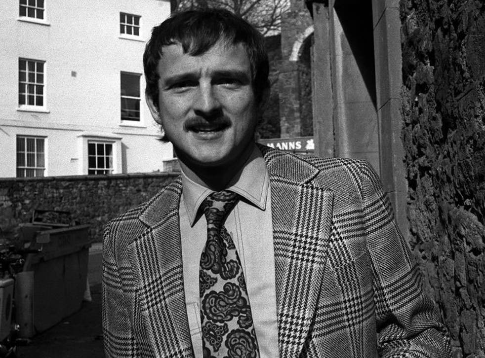 Andrew Newton in 1978.  Police had thought he was dead - until he was found alive and well and living in a cul-de-sac in Surrey