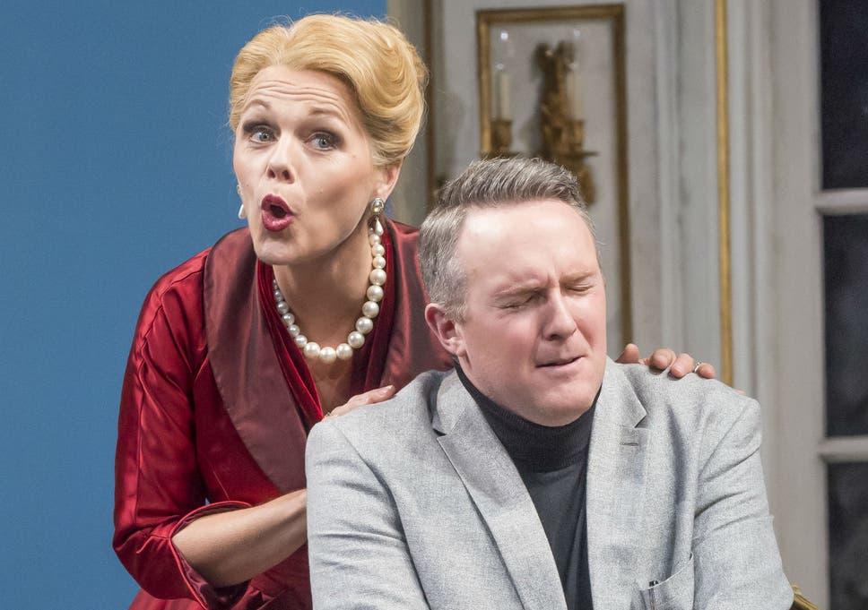 Miah Persson and Gavan Ring in 'Capriccio'