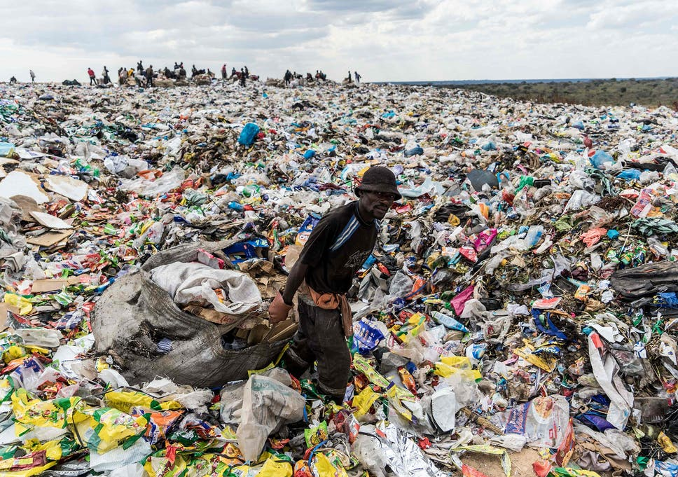 uk waste sent overseas for recycling could end up in landfill