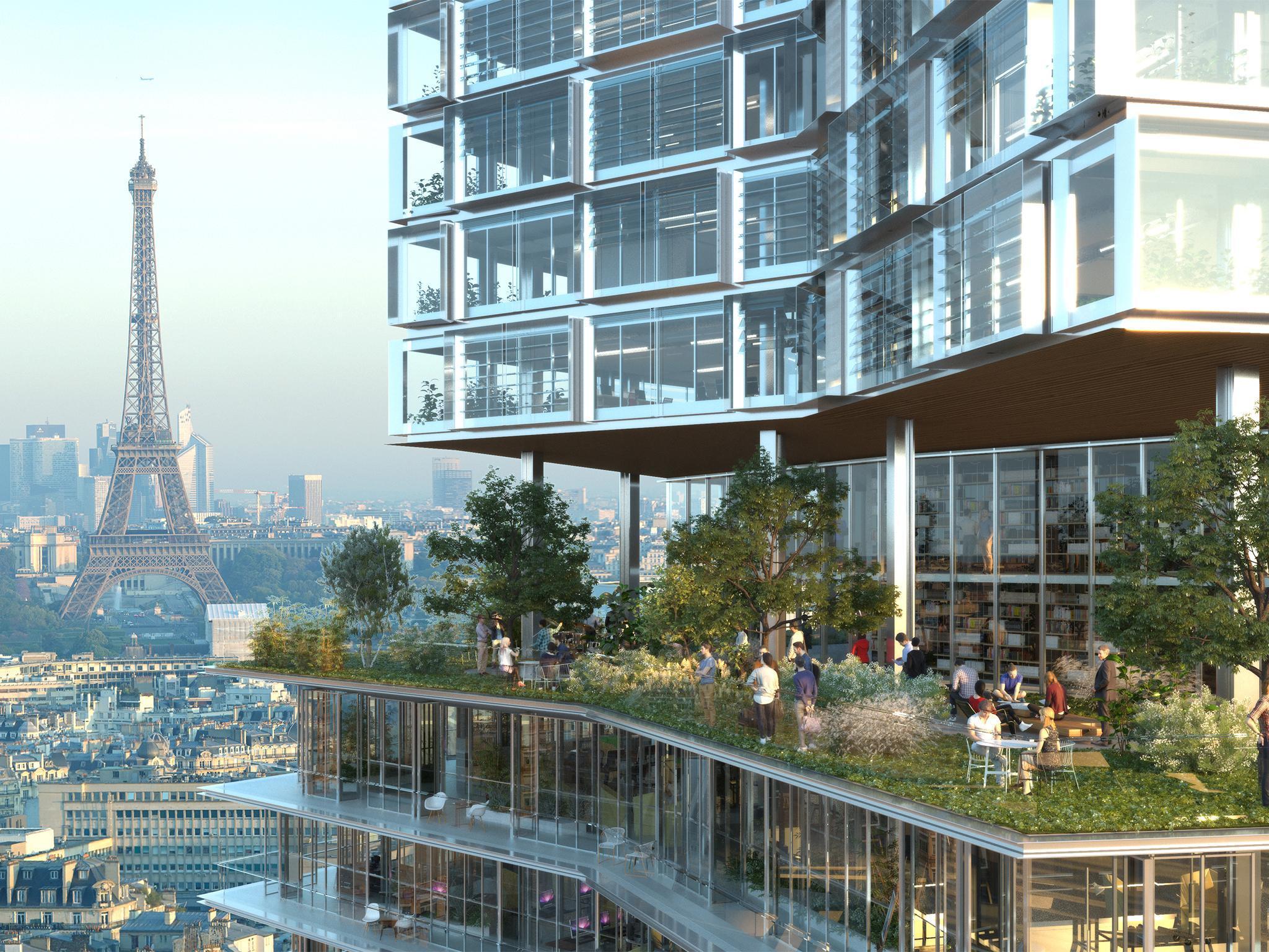 Paris Has Fallen In Love With Garden Skyscrapers But