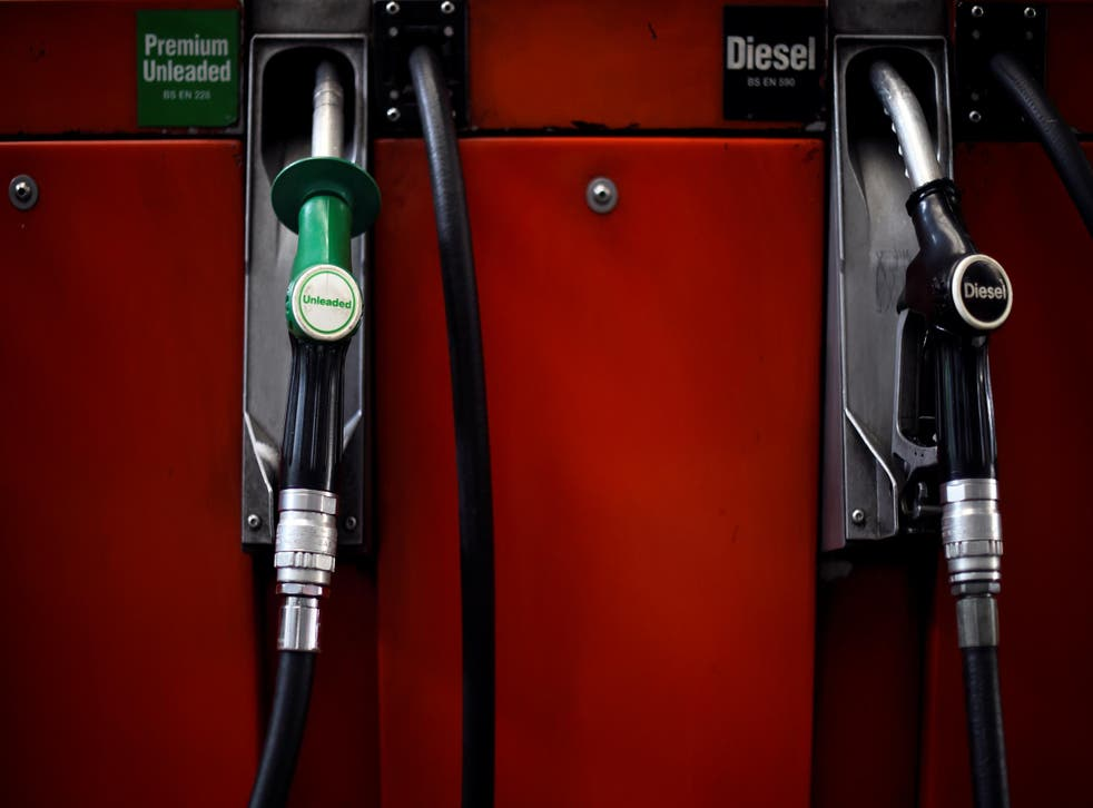 The average petrol price rose to 129.37p per litre over the weekend