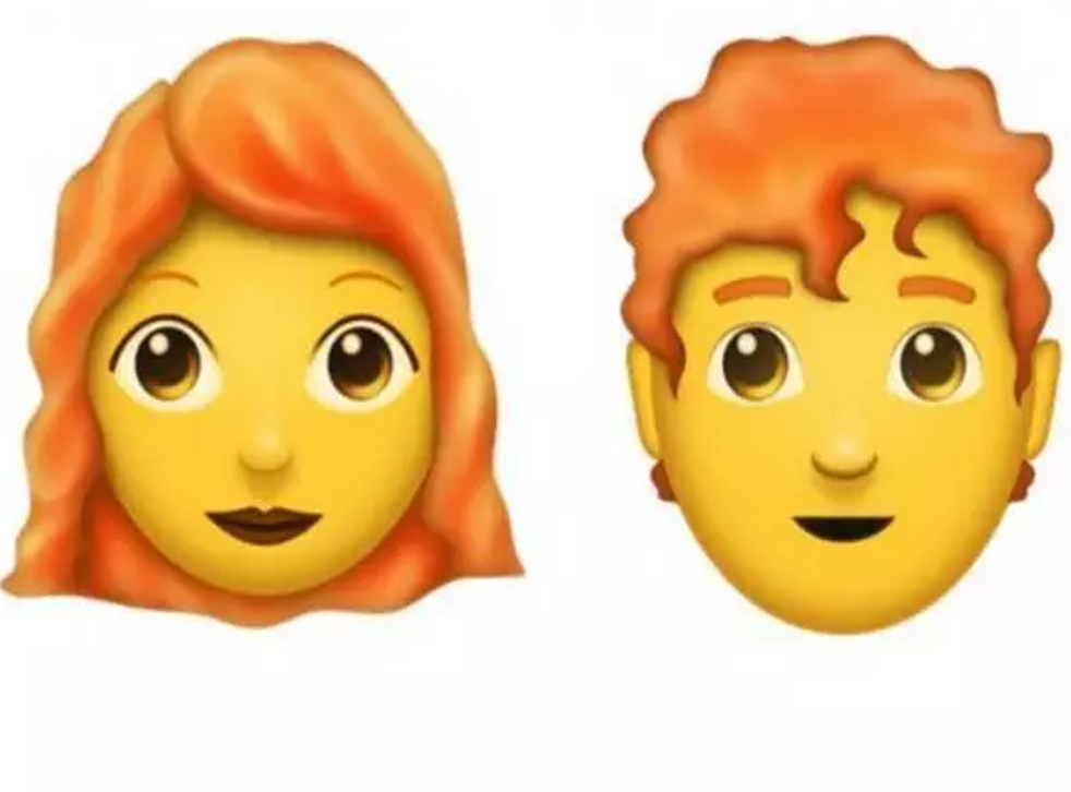 Redheads will finally have an emoji (Emojipedia)
