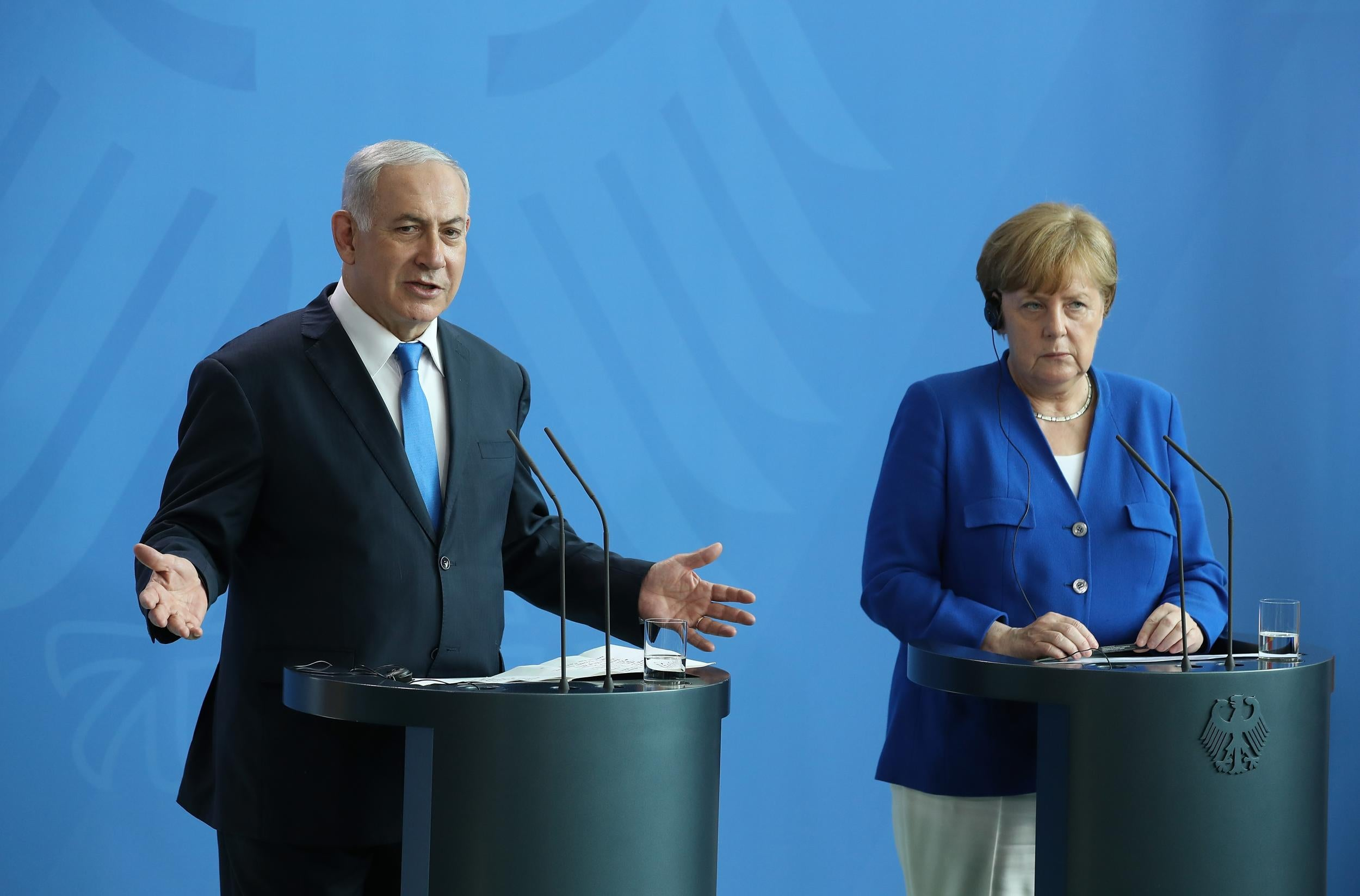 Israel's Benjamin Netanyahu flies to Europe to lobby May, Macron and Merkel against Iran nuclear deal