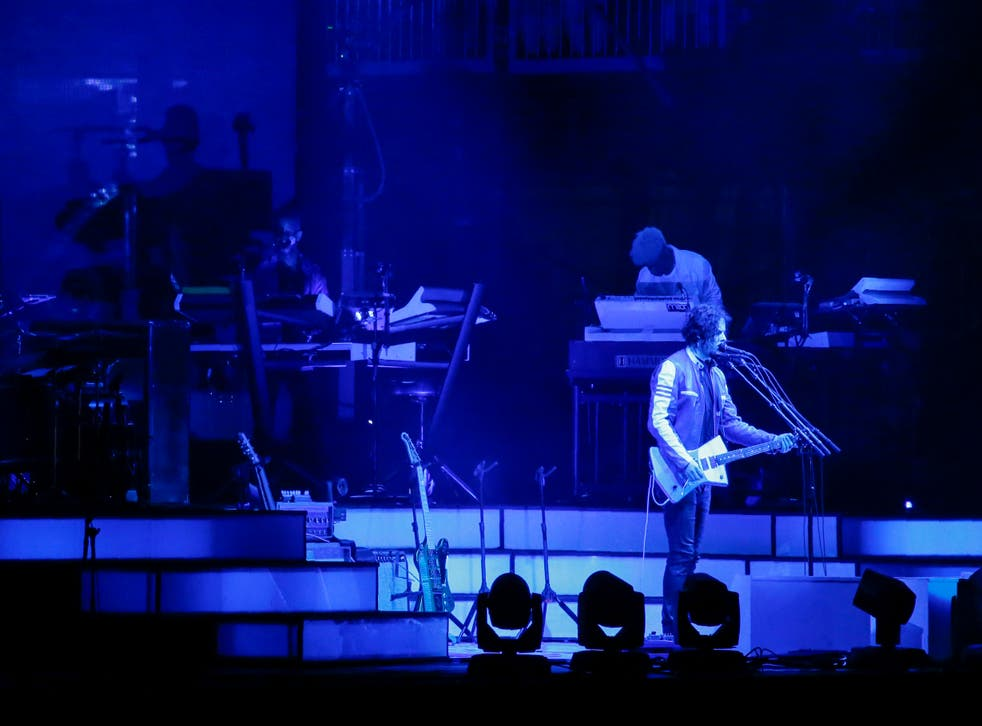 Jack White performs at the Governors Ball in New York