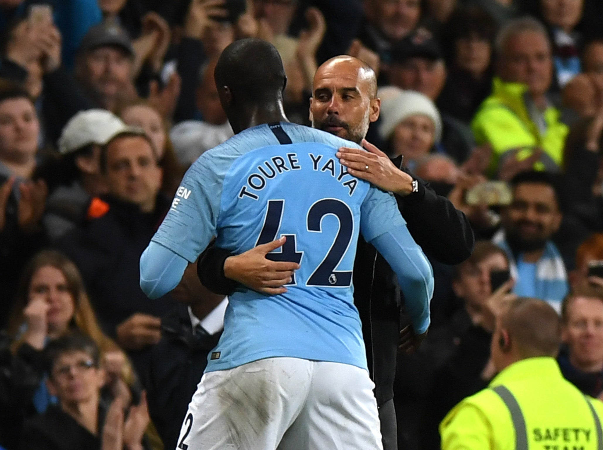 Pep Guardiola brands Yaya Toure's racism allegations against him as 'a lie and he knows it'