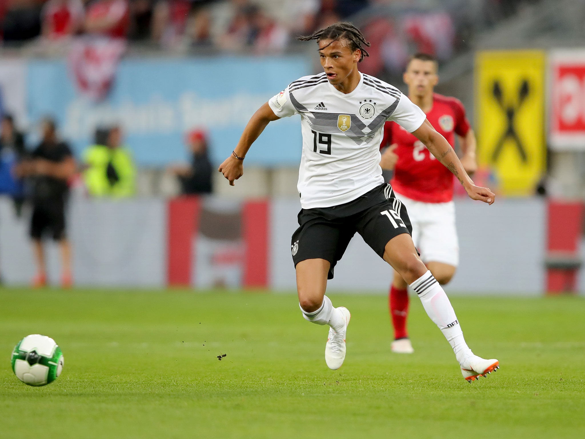f656cbaad8a World Cup 2018: Leroy Sane promises to 'bounce back stronger' after Germany  squad omission | The Independent