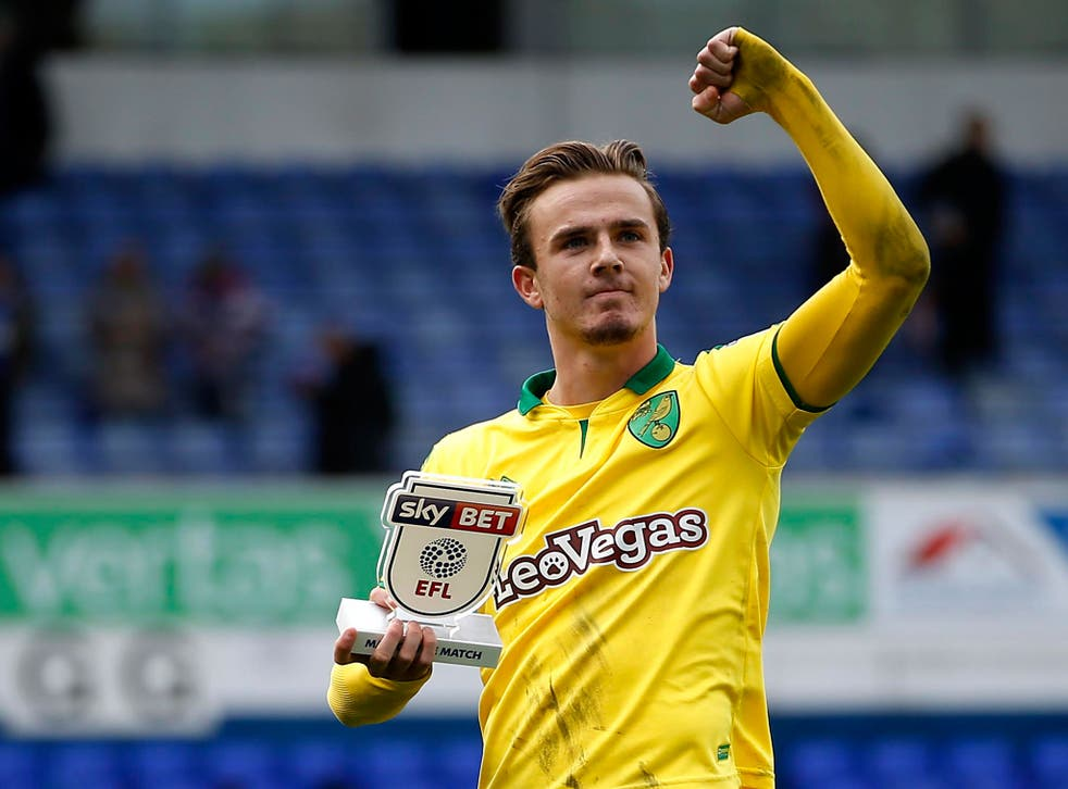 Maddison was named Norwich's Player of the Year after a fine individual season despite the club's inconsistent campaign