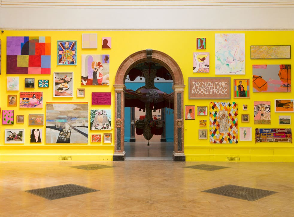 Gallery view of the 250th Summer Exhibition, Royal Academy of Arts