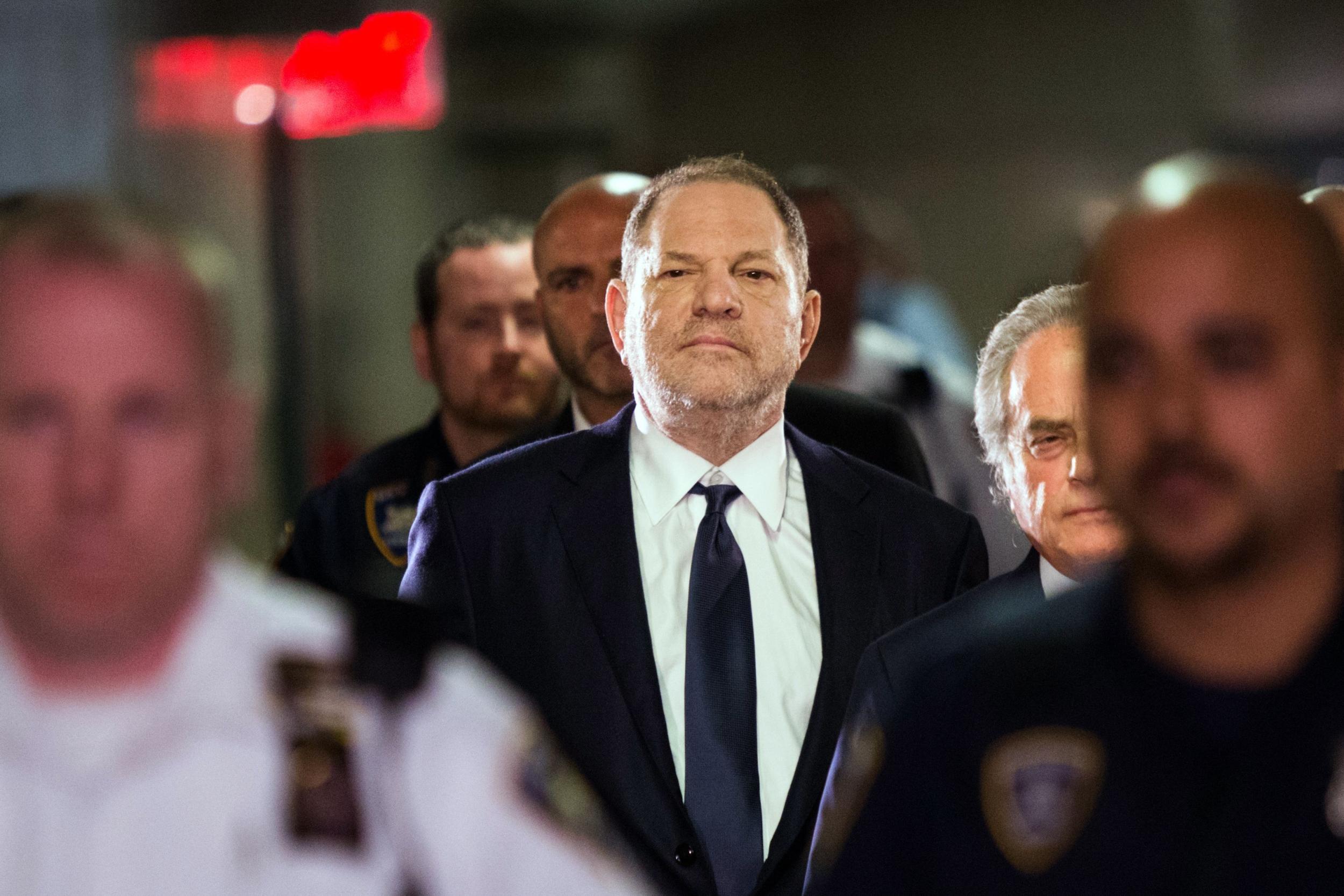 Inside the tense New York court room where Harvey Weinstein pleaded not guilty to rape