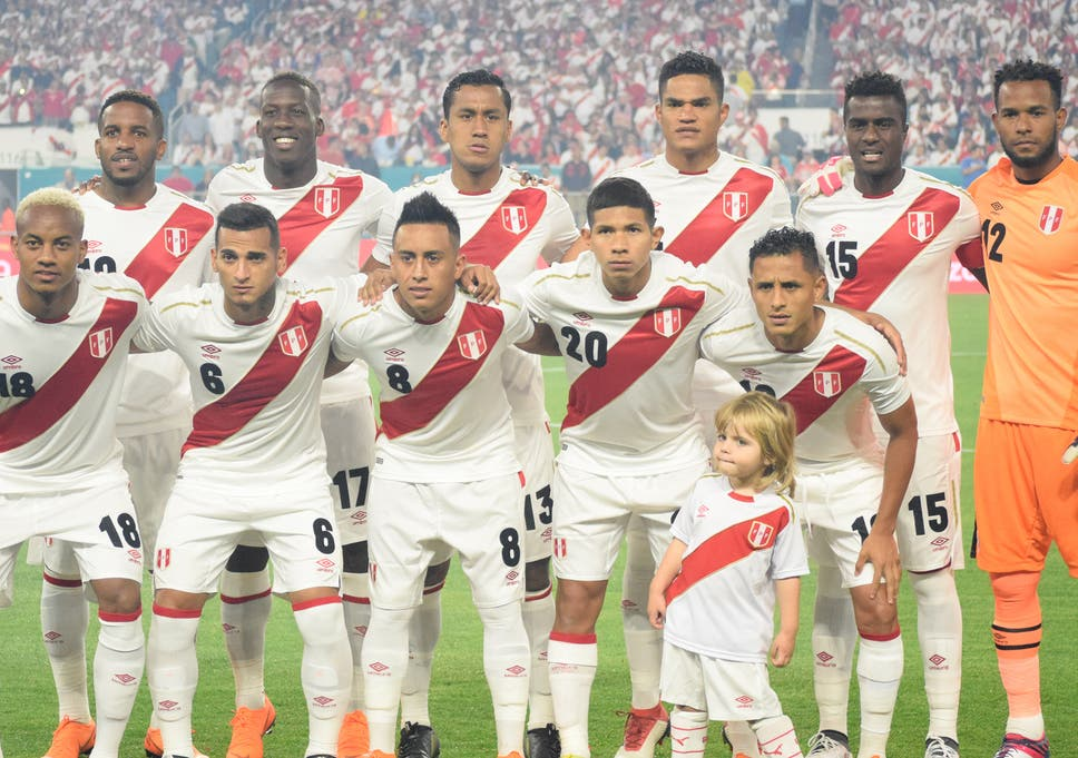 2d7cadc50b4 Peru feature in Group C at the 2018 World Cup