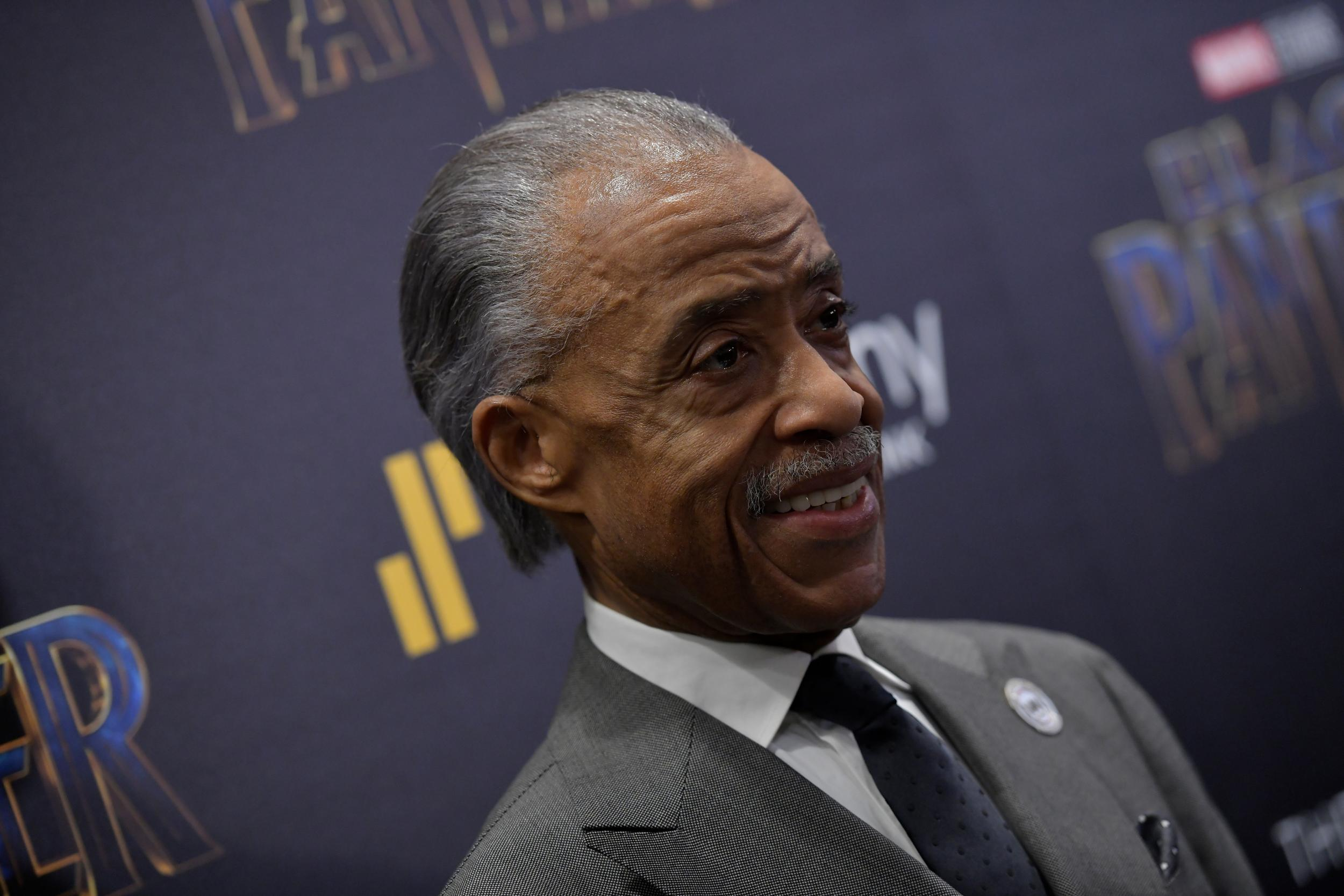Reverend Al Sharpton says Trump is an 'embarrassment' to America and emboldens the far right