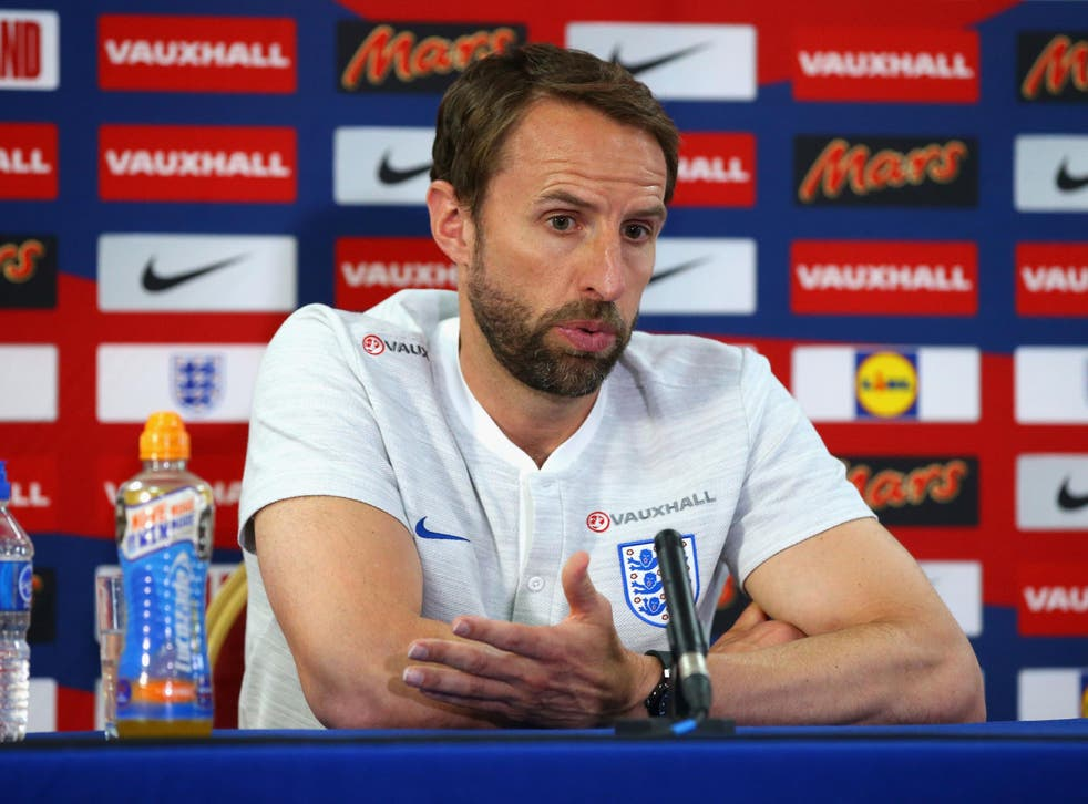 Gareth Southgate will lead England at this summer's World Cup in Russia