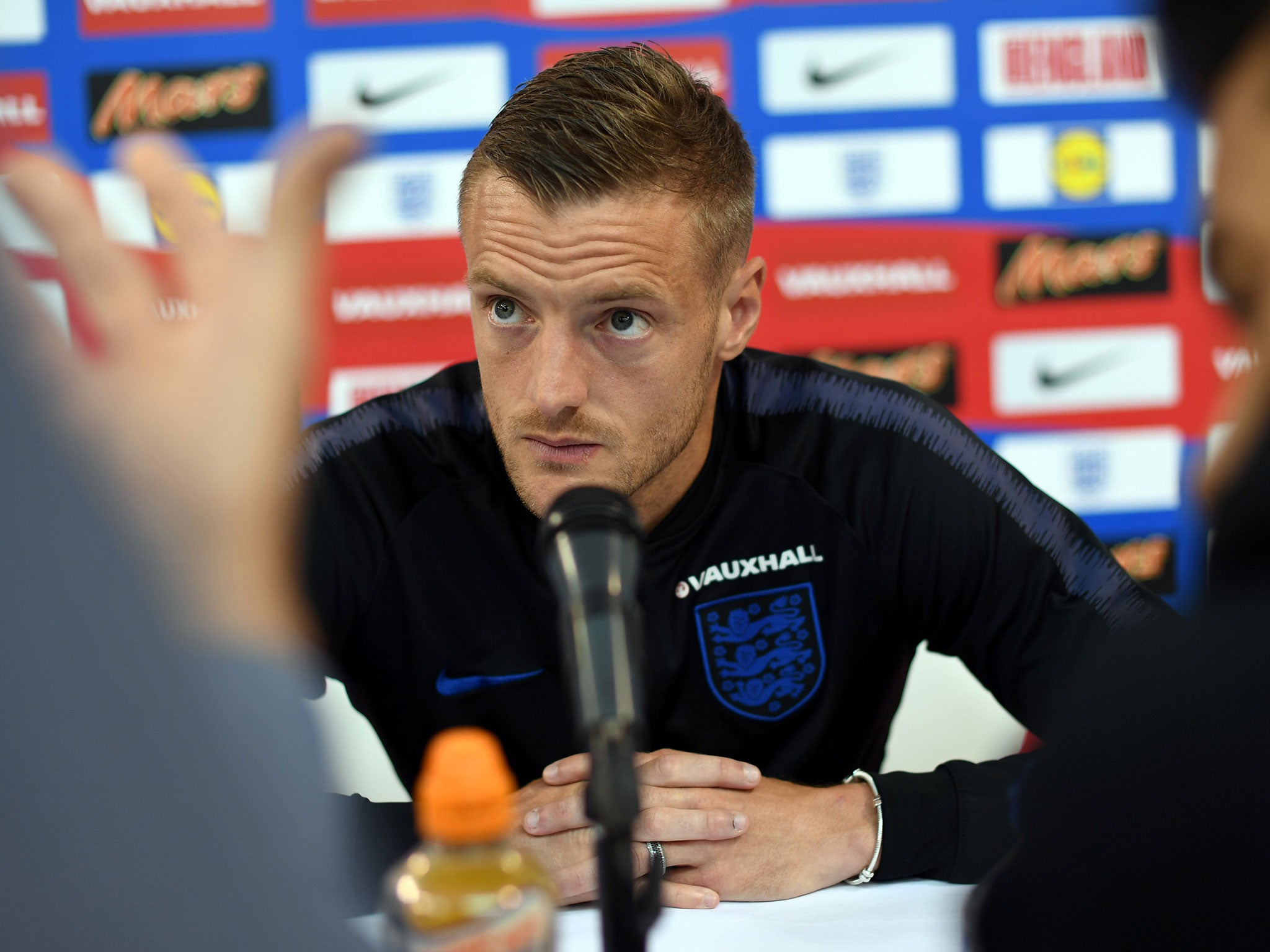 England forward Jamie Vardy reveals he's stopped using snus after last season's backlash