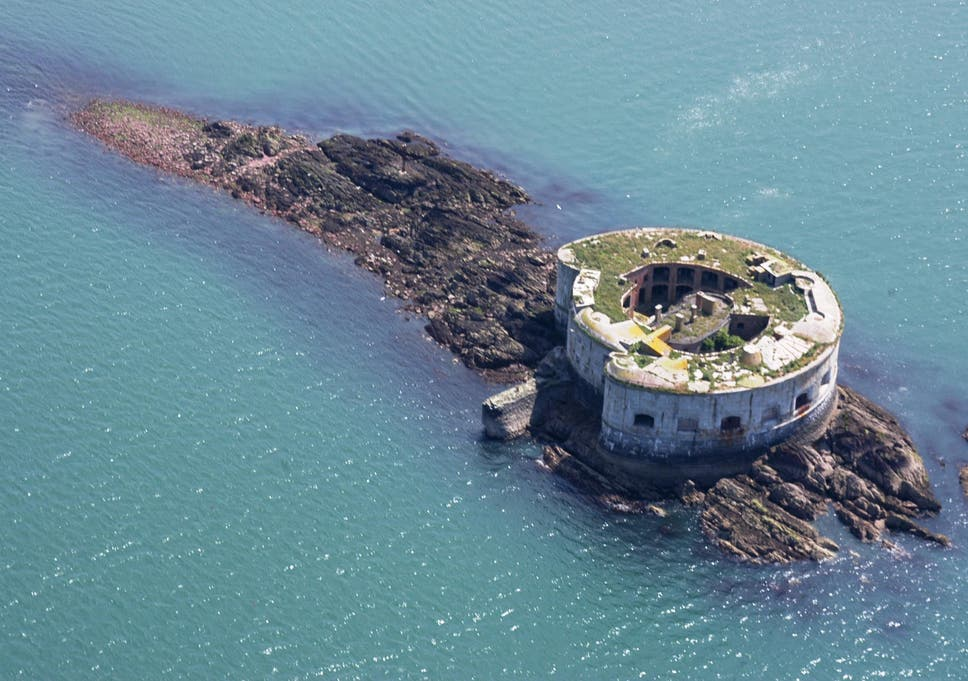 Private Welsh island and fort on sale for less than one