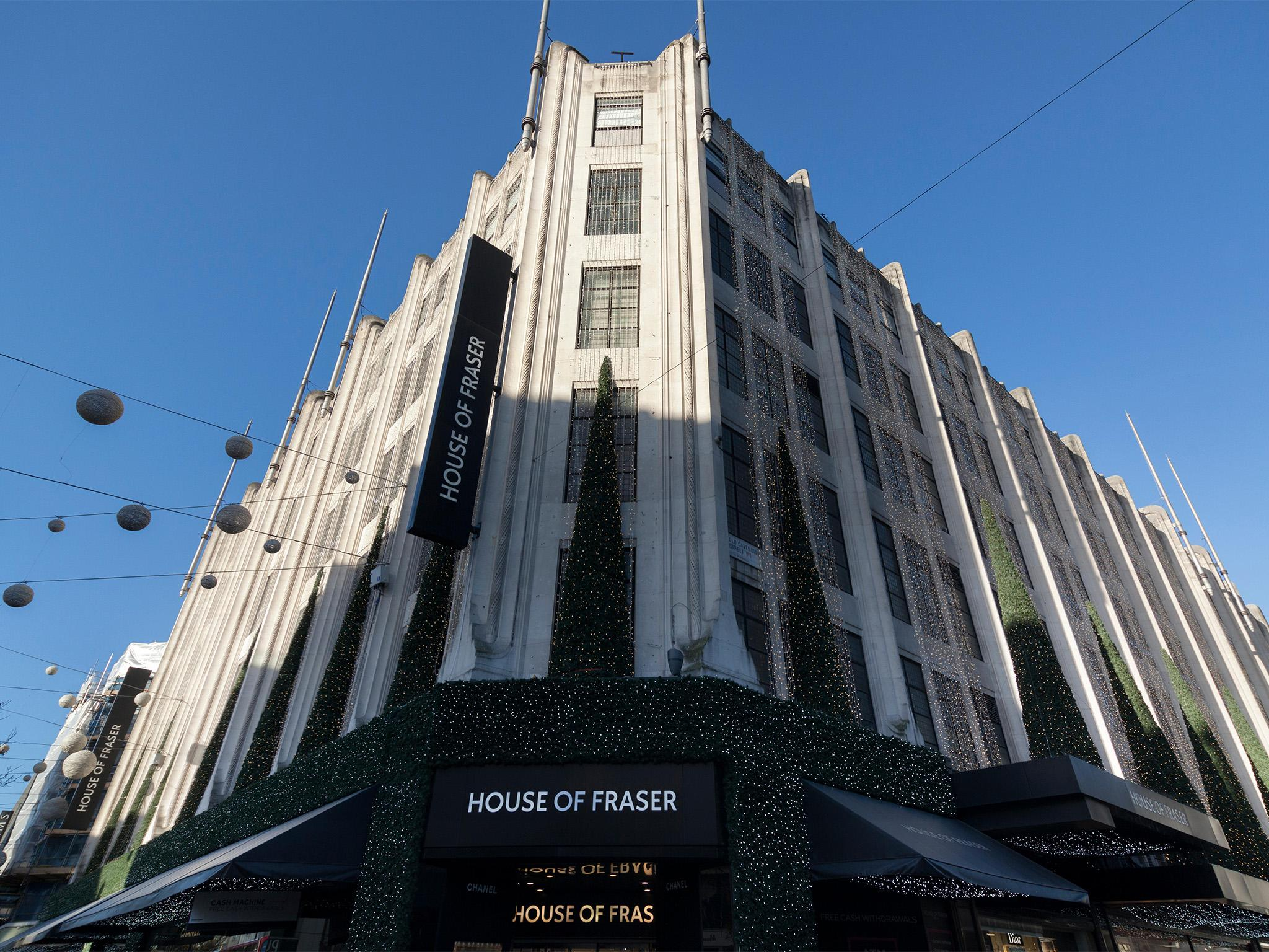 House Of Fraser The Full List Of Stores Due To Close The Independent