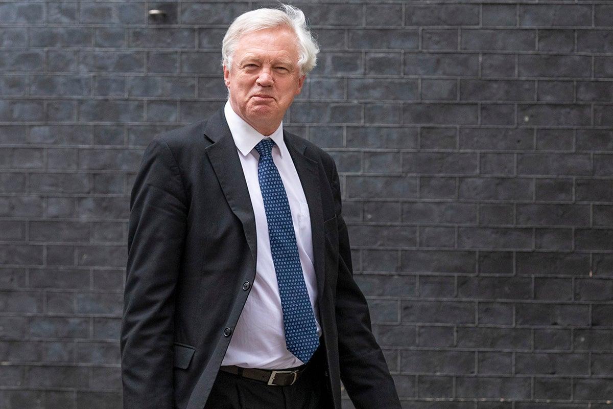 David Davisu0027 resignation letter claims UK left