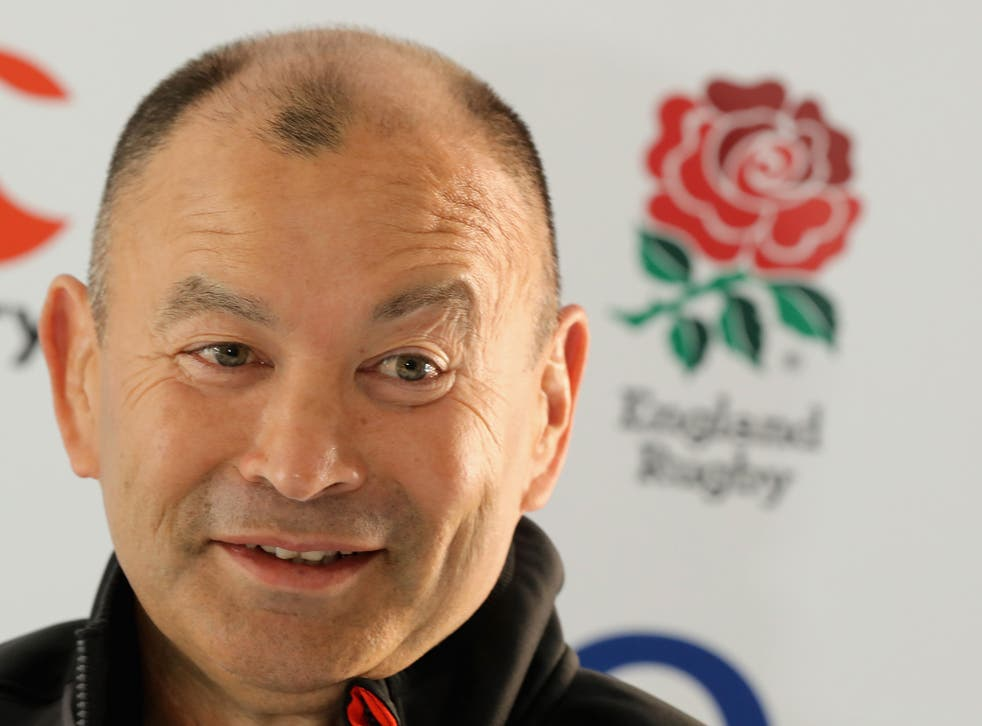 Eddie Jones says he is enjoying the challenge of coaching England