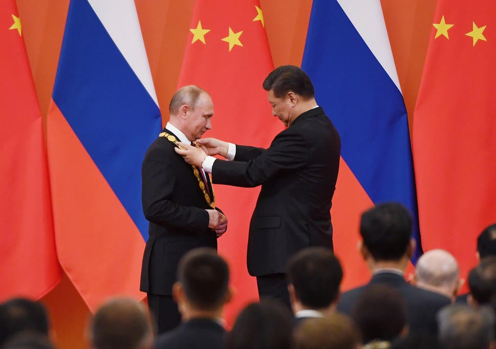 Chinas Xi Declares Putin His Best Most Intimate Friend As Russia