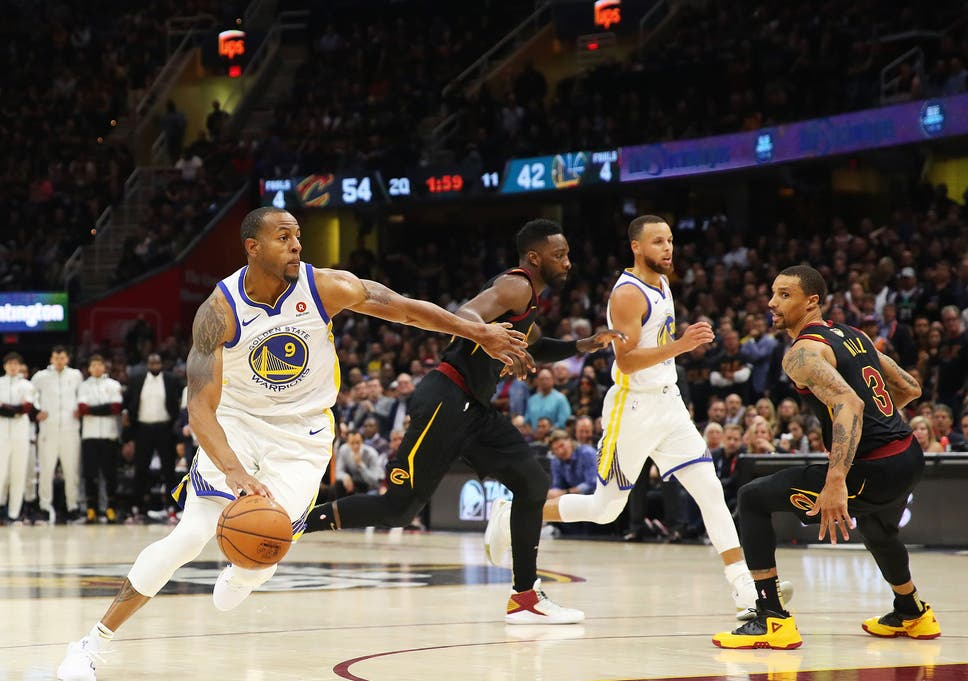 The Warriors and Cavaliers are midway through the NBA s championship finals b7f49f988