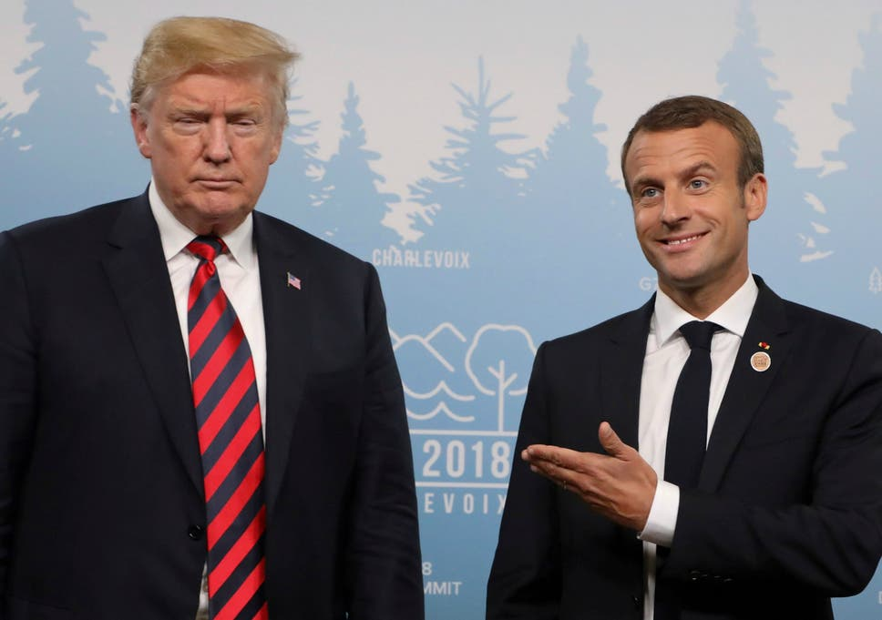 Macron says G7 will publish joint declaration on trade despite ...