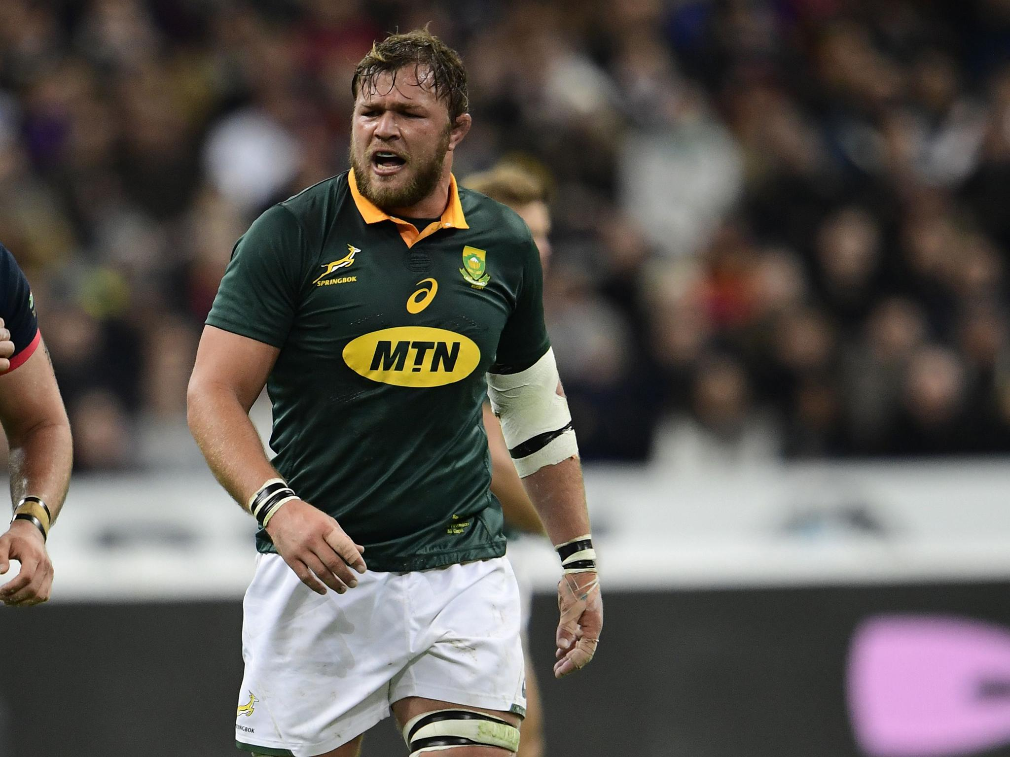 Rugby World Cup 2019: South Africa name unchanged team for opening game against New Zealand