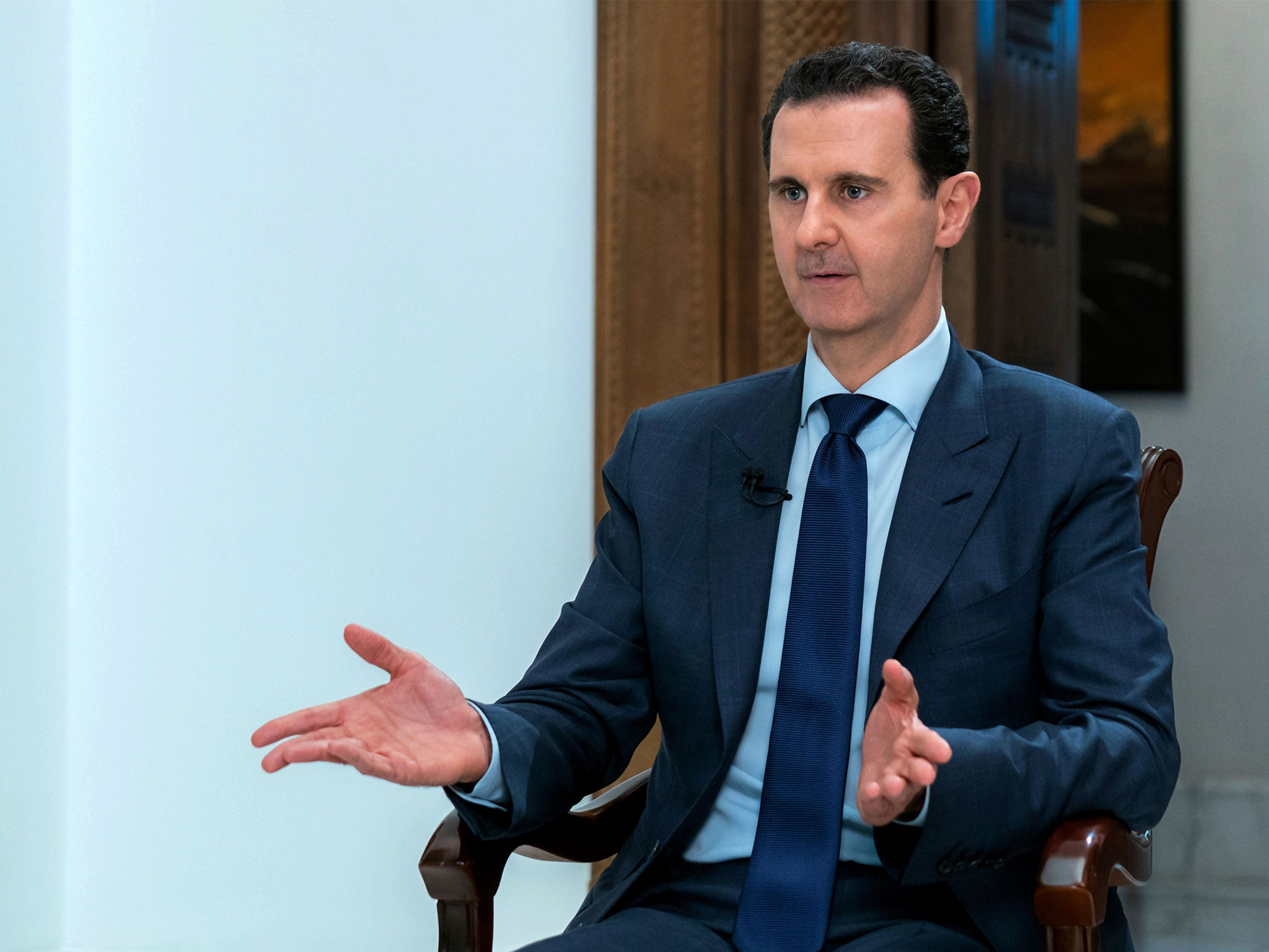Assad accuses West of fuelling Syrian war in hopes of toppling his regime