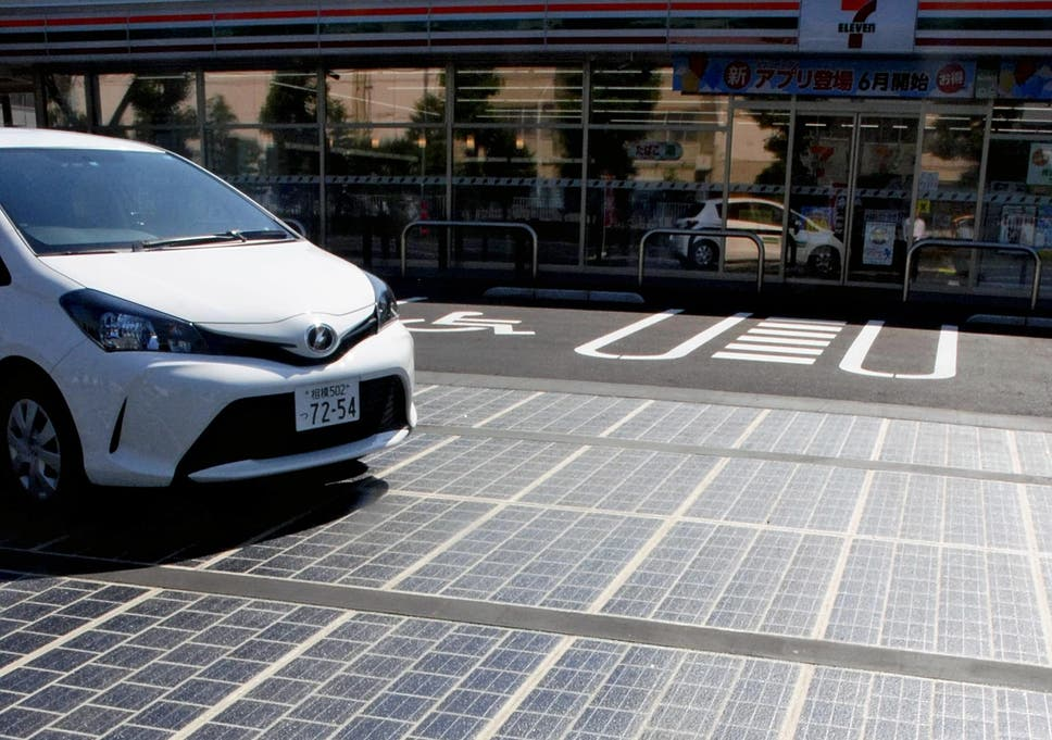 New Solar System 2020 Tokyo to build eco friendly 'solar roads' ahead of 2020 Olympics