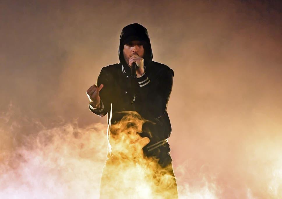 Eminem fans panic after 'gunshot' sound effect is used at