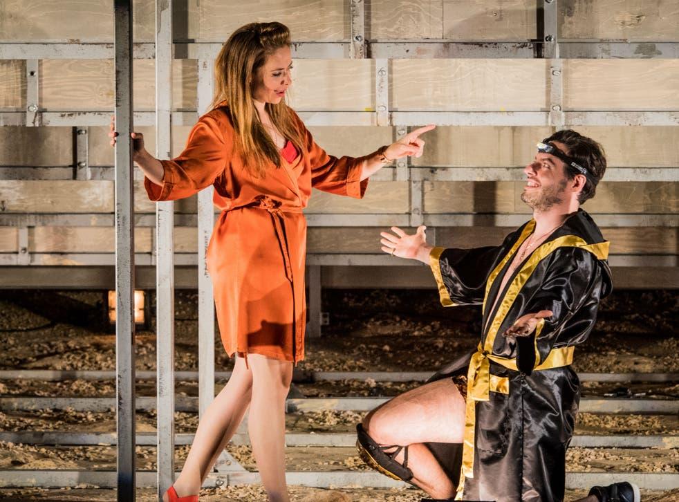 Stefanie True and Raffaele Pe in 'Agrippina'