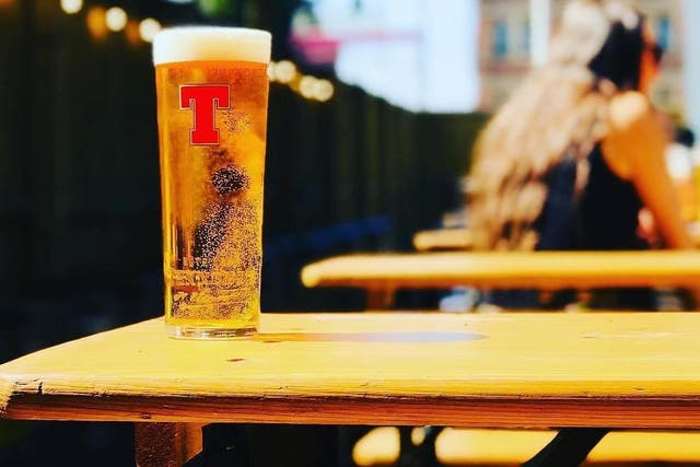 Tennent's Lager is being sold as a craft beer in Spain (Instagram)