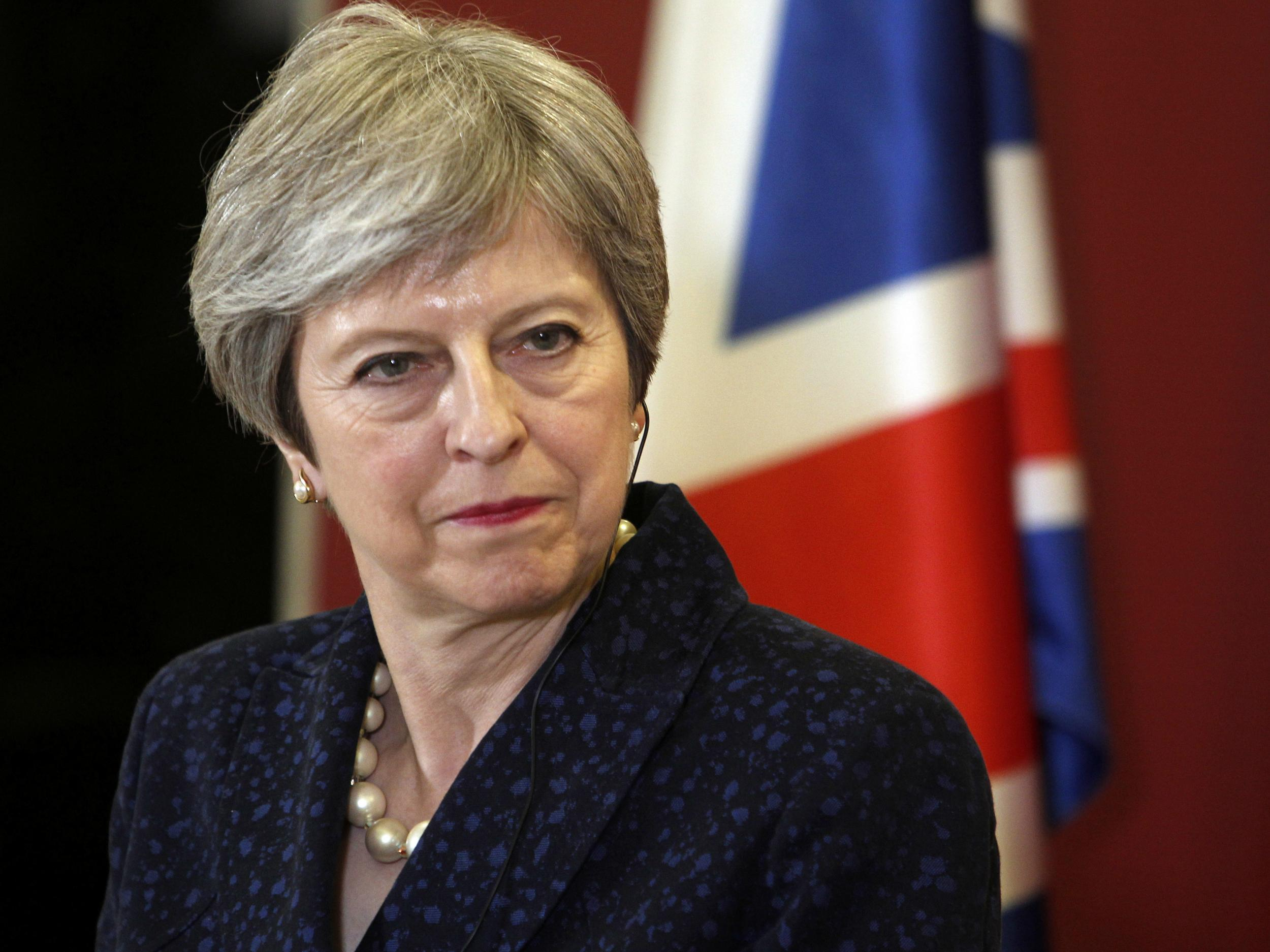 'More than 50' Tory MPs prepared to defy Theresa May to stop no-deal Brexit        Shape    Created with Sketch.                                                                                                        Brexit so far: in picturesInside Politics newsletterInside Politics newsletter