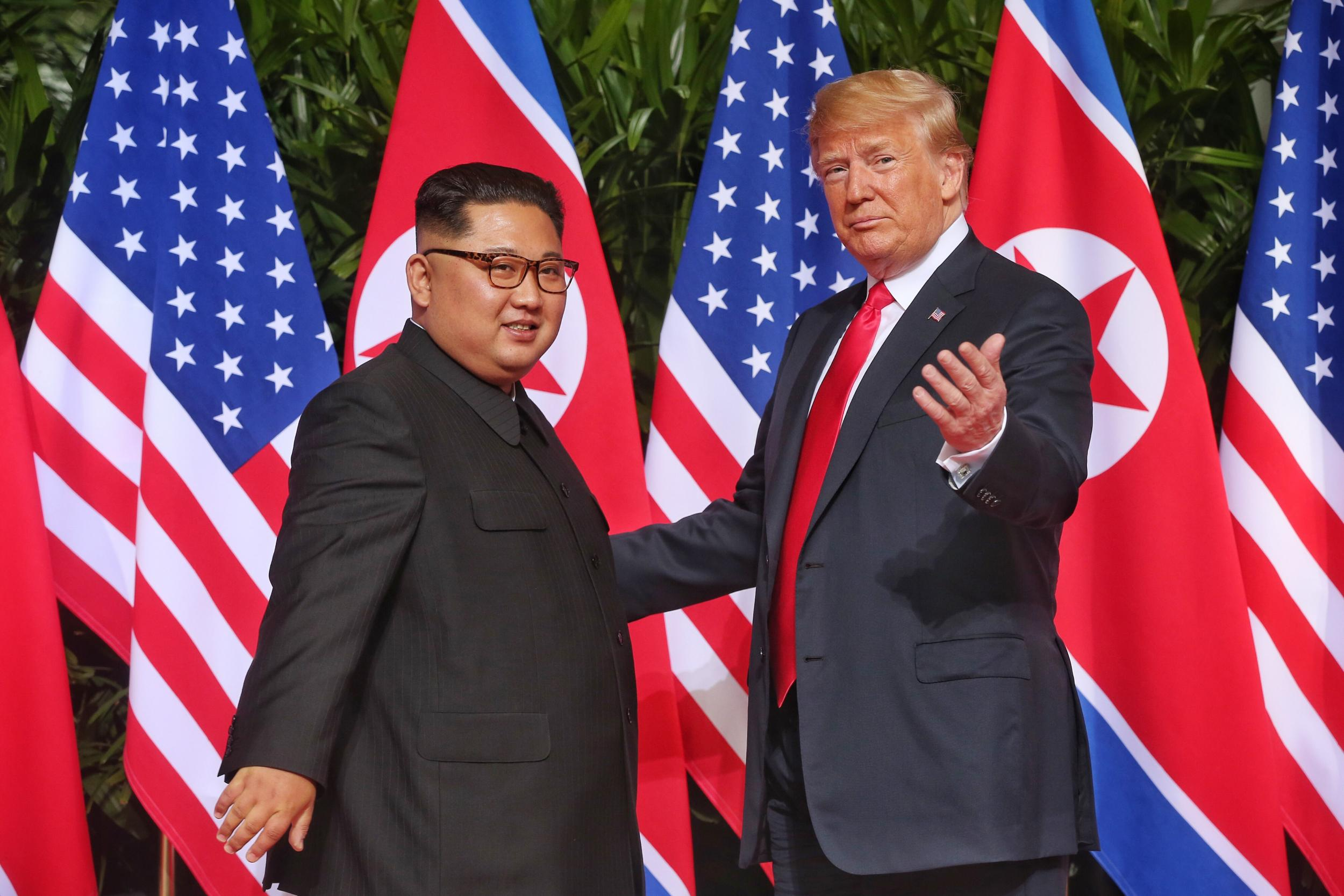 History made as meeting between Trump and Kim Jong-un goes 'better than anybody could have expected'