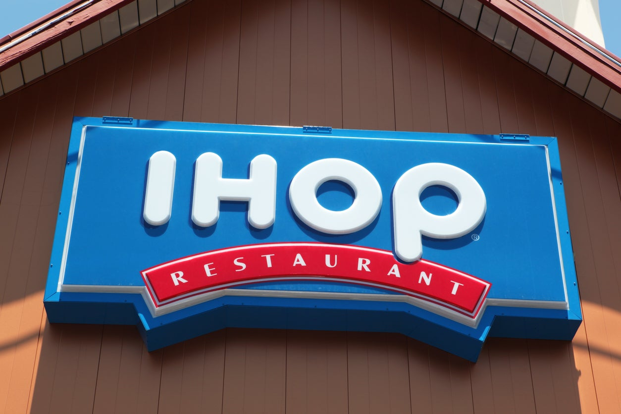 IHOP enrages customers by announcing name change to 'IHOb' | The Independentindependent_brand_ident_LOGOUntitled