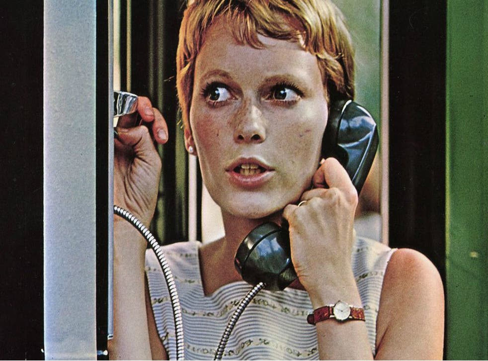 Dial P for paranoia: Mia Farrow's Rosemary discovers it's no great leap from Dracula's castle to New York's Bramford apartment building