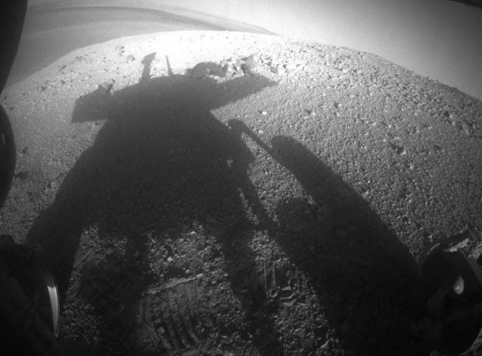 The Opportunity rover is currently in trouble on the surface of Mars as a massive dust storm has blocked its solar panels