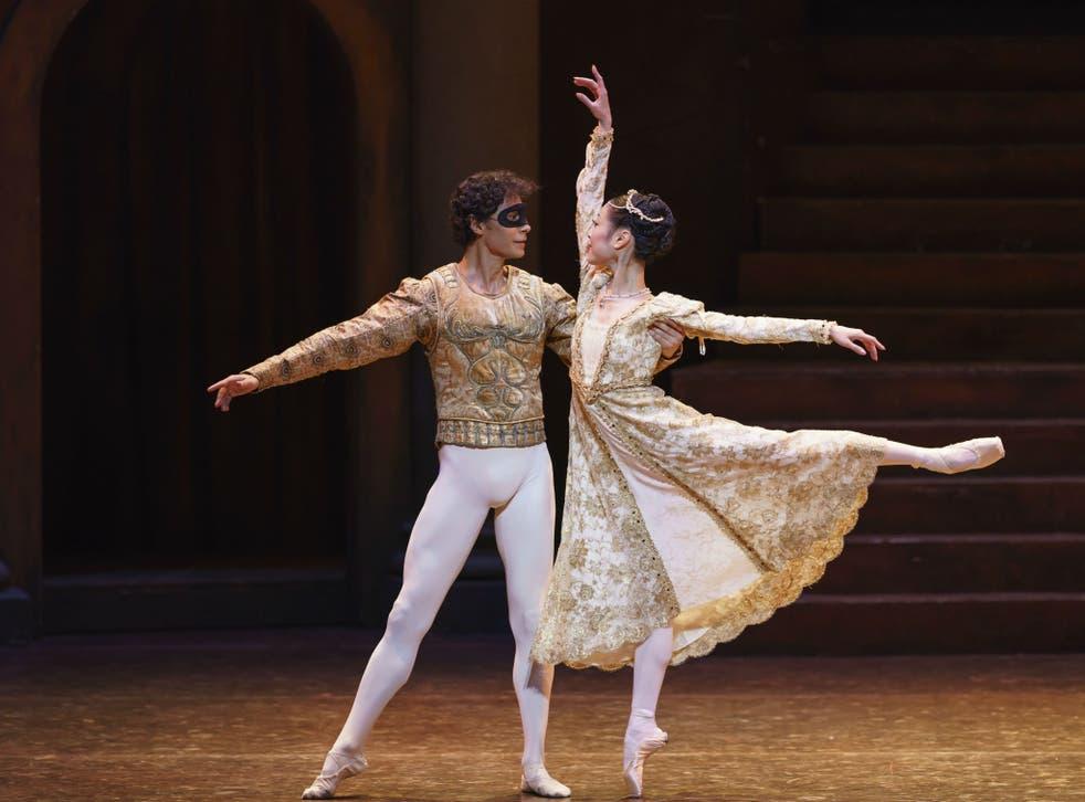 Cesar Morales and Momoko Hirata as the star-crossed lovers