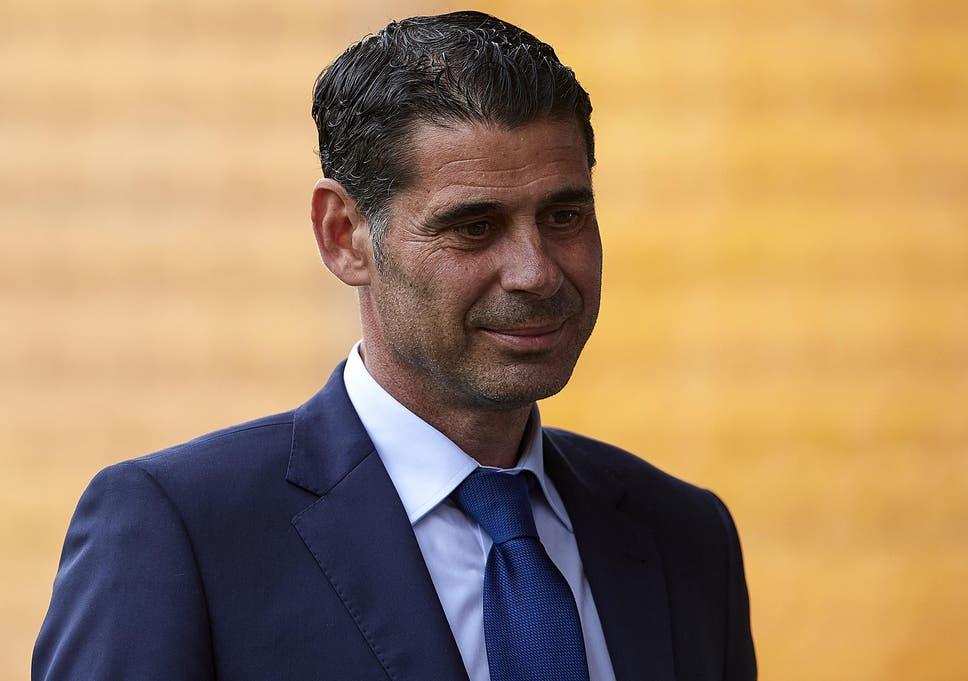 Fernando Hierro was sporting director at the Spanish FA