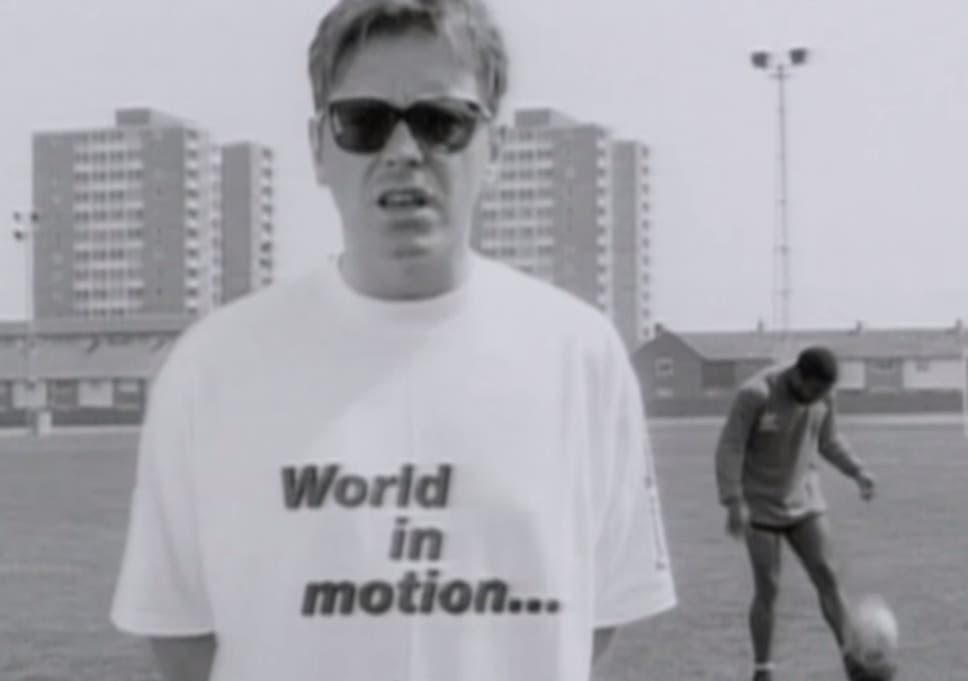 Why New Order's football song 'World in Motion' was a game