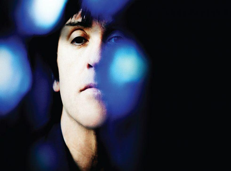 Cover art for Johnny Marr's new album 'Call The Comet'