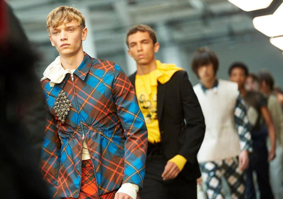 London Fashion Week Men S Five Key Trends For Ss19 The Independent