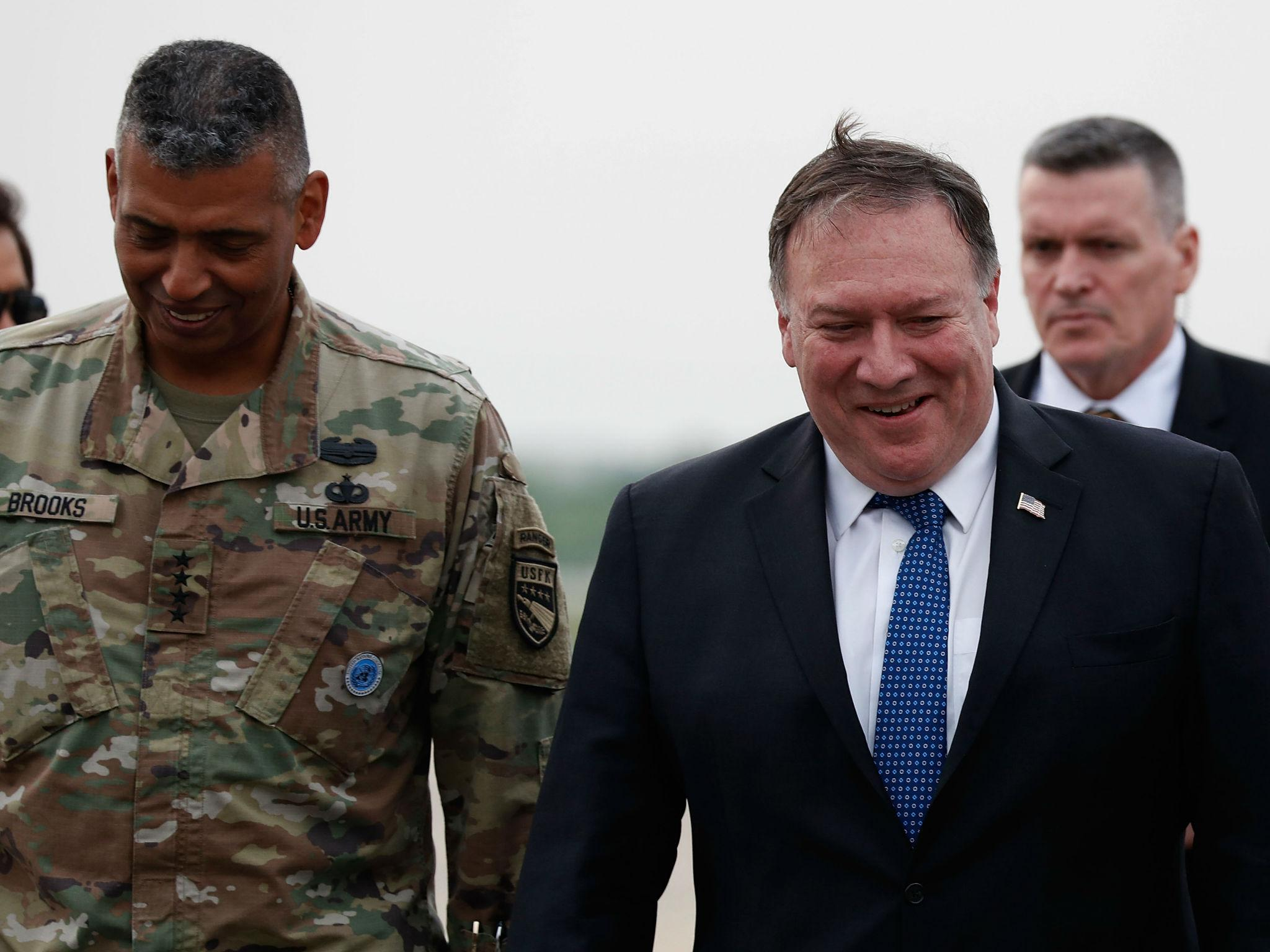 US would like to see 'major' North Korea nuclear disarmament in next two years, Mike Pompeo says