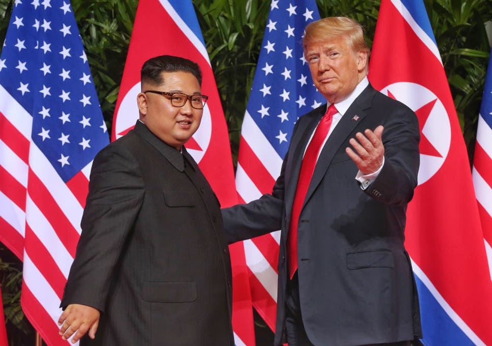 Mr Trump Became The First Sitting President To Meet With A Leader From The North Korean