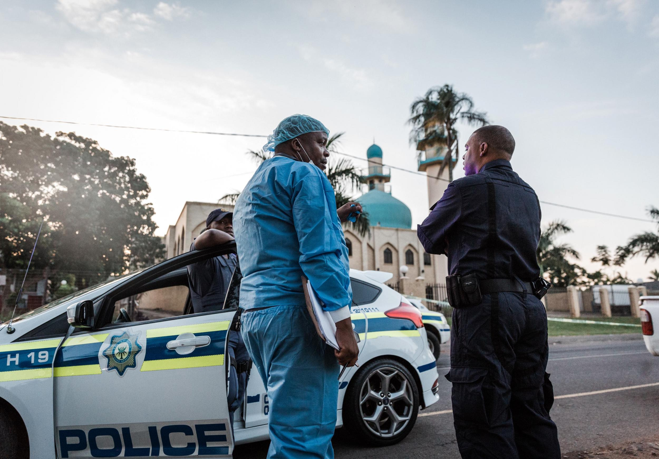 Two stabbed to death in 'brutal' attack on mosque in South Africa during morning prayers