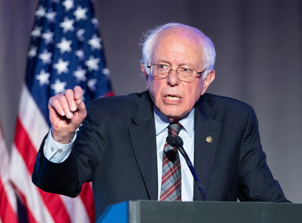 Mr Sanders lost out to Hillary Clinton in 2016