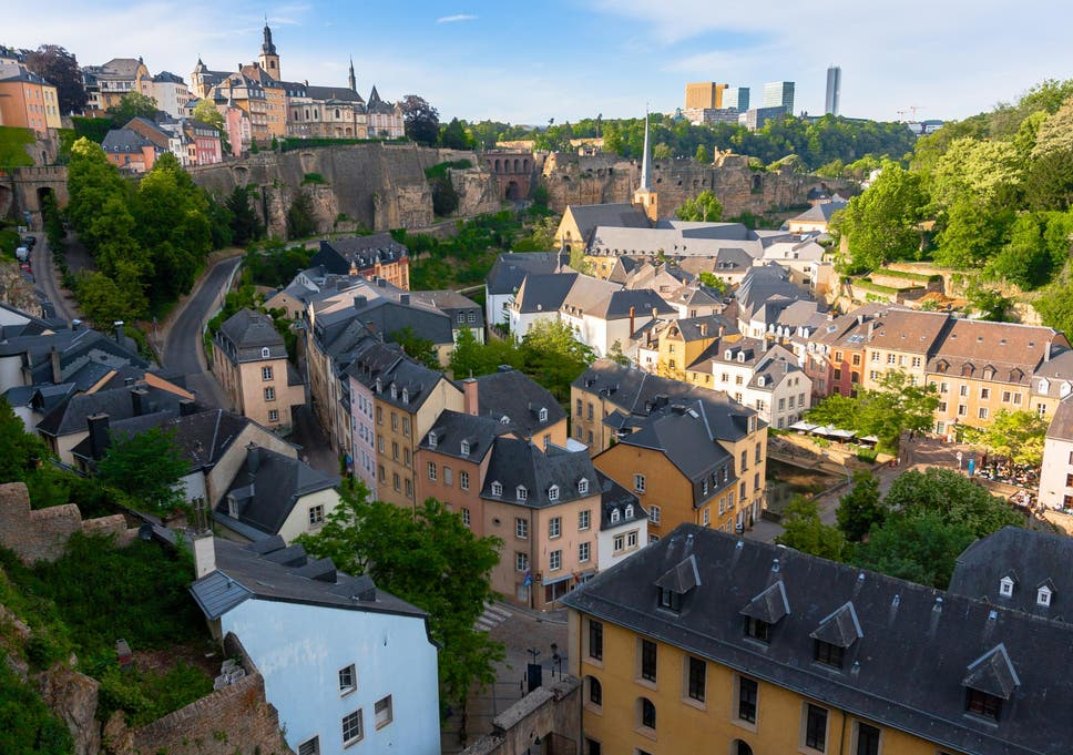 Woman in Luxembourg