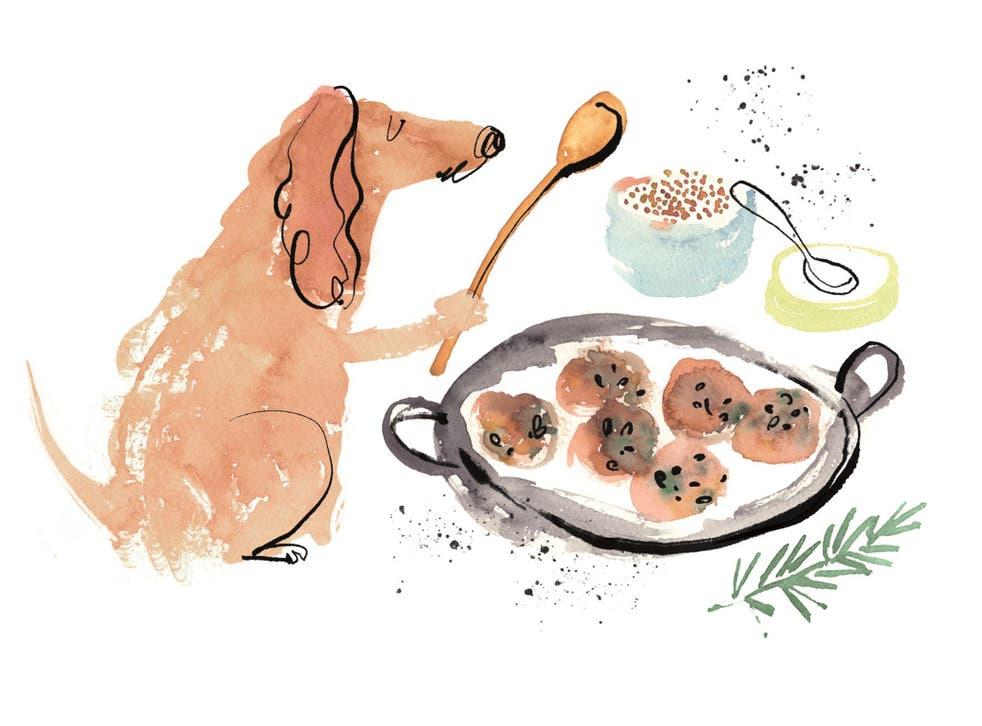 Turkey and quinoa meatballs: if it's good enough for them, it's good enough for us